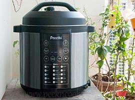Preethi Touch Electric Pressure Cooker - Review By PeekNCook
