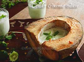 Tender Coconut Lassi/Buttermilk Or Daaber Ghol