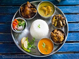 Sunday Bengali LunchThali