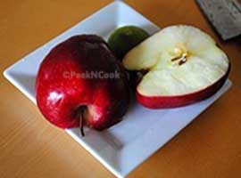 Preventing cut fruit(Apple) from brwoning