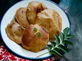 Aloo Masala Or Potato Puri