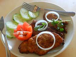 Kolkata Style Chicken Cutlet Or Foul Cutlet