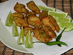 Bengali spicy battered fish fry or Machhi pakoda
