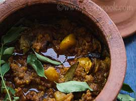 Slow Cooked Mutton Keema Curry or Dum Keema Masala