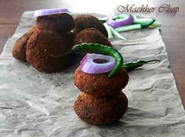 Bengali Fish Croquette Or Machher Chop