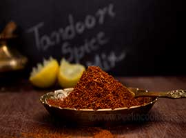 Homemade Freshly Ground Tandoori Spice Powder