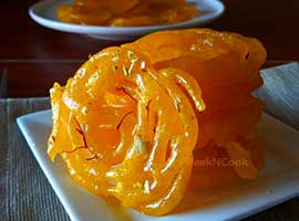Bengali Jeelipi Or Jalebi Recipe