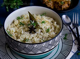 Jeera Rice Or Cumin Flavored Rice