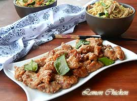 Chinese Style Lemon Chicken Recipe