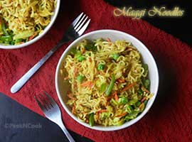 Kid's Favorite Healthy Maggi Noodles Recipe