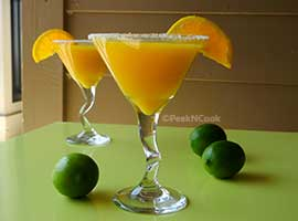 Mango Orange Slush Recipe