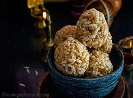 Murir Moa Or Puffed Rice Laddu