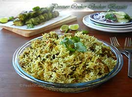 Easy Chicken Biryani recipe in pot or pressure cooker