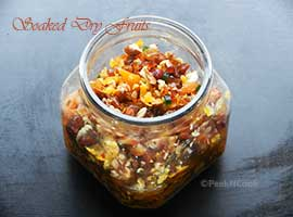 How to Soak Dryfruits For Christmas Cake