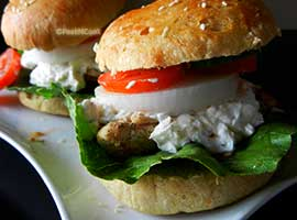 Summer Special Chicken Burger