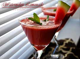 Watermelon & Cucumber Lemonade