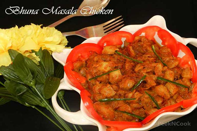 Chicken Bhuna Masala