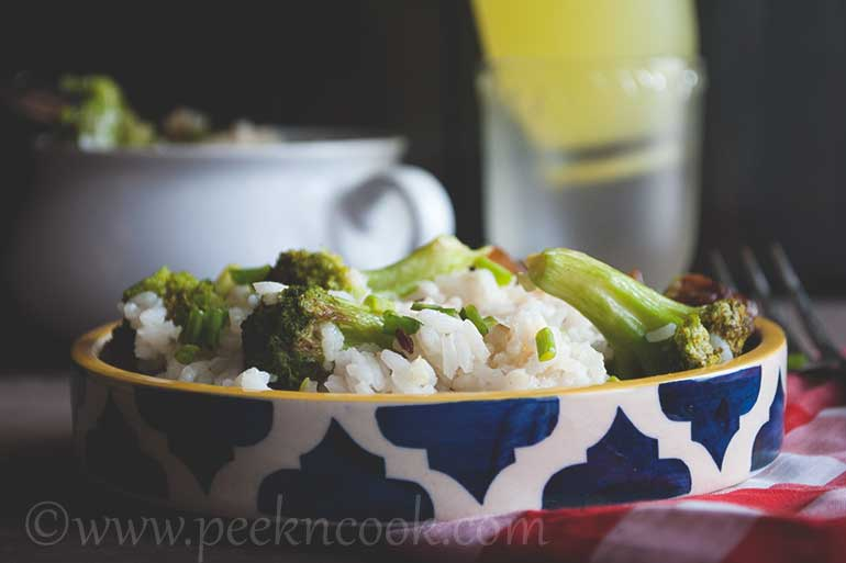 Brocoli Rice