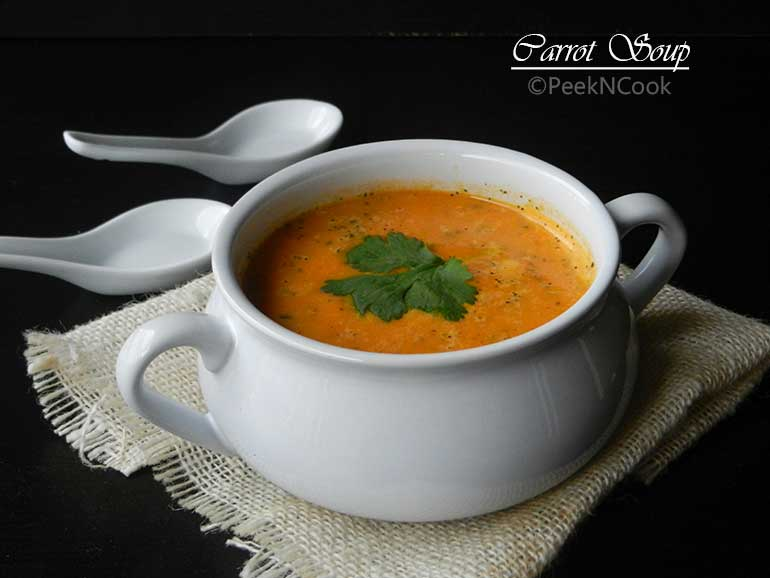 Indian Spiced Carrot Soup Easy Recipes To Learn Amp Cook