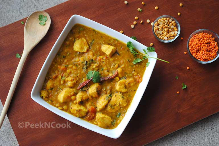 Chicken With Lentil