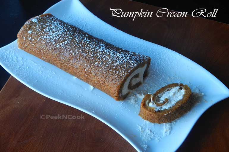 Pumpkin Cream Roll